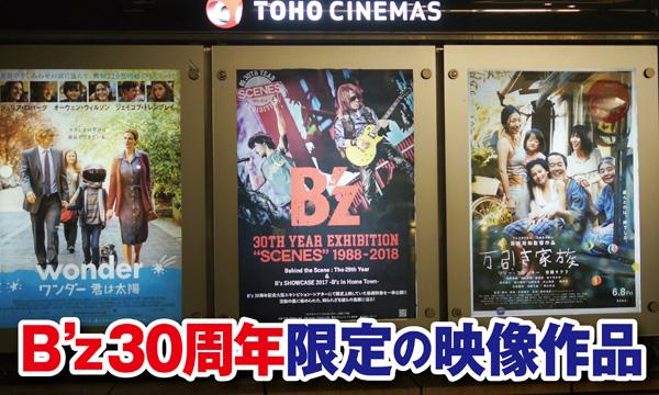 B'z,30周年,エキシビジョン,映画