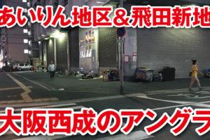 大阪,西成,あいりん地区,飛田新地,飛田遊郭,風俗