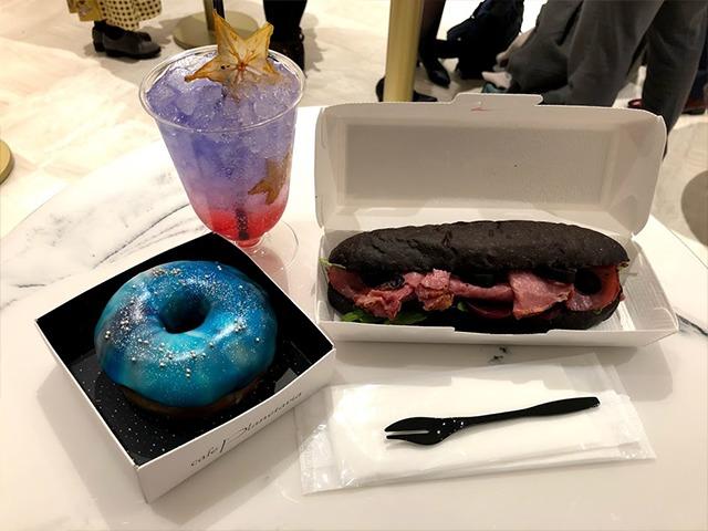 プラネタリア東京,コニカミノルタプラネタリウム,有楽町,カフェ,メニュー