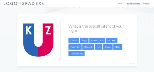 LogoGraders,使い方,評価,ロゴ,デザイナー
