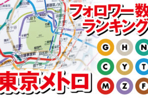 東京メトロ,ツイッター,Twitter,フォロワー,数,地下鉄